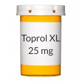 Toprol XL 25mg Tablets