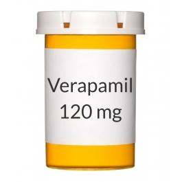 Verapamil 120mg ER Tablets