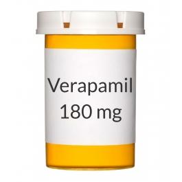 Verapamil 180mg ER Tablets