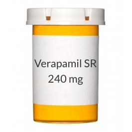 Verapamil ER 240mg Tablets (Generic Calan SR)