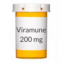Viramune 200mg Tablets - 60 Count Bottle