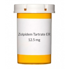 Zolpidem Tartrate ER 12.5mg Tablets