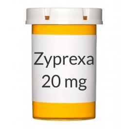 Zyprexa 20mg Tablets