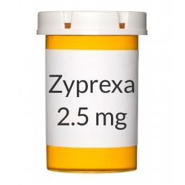 Zyprexa 2.5mg Tablets