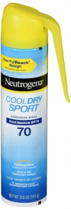 Neutrogena Cool Dry Sport Water-Resistant Sunscreen Spray - SPF 70 - 5oz
