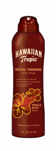 HAWAIIAN TROPIC -Royal Tanning Clear Spray 6 oz