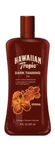 Hawaiian Tropic Dark Tanning Oil SPF 0 - 8 oz