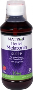 Natrol Melatonin 2.5mg Per 10ml 240ml