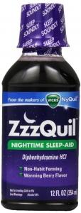 ZzzQuil Nighttime Sleep-Aid Liquid - 12.0 fl oz