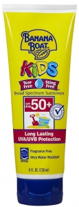 Banana Boat Kids Tear Free Sunscreen Lotion SPF 50- 8oz