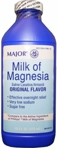 Major Milk Of Magnesia 16 oz