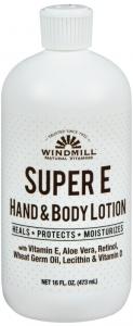 Windmill Super E Hand And Body Lotion 16 oz