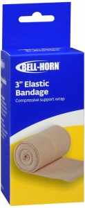 Elastic Bandage 3 Inch -Bell Horn