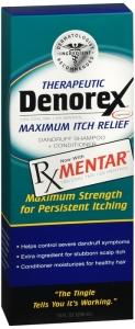 Denorex Therapeutic Dandruff Shampoo + Conditioner, Maximum Itch Relief- 10oz