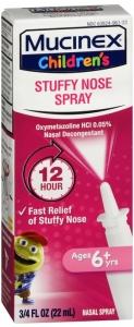 Mucinex Children's Stuffy Nose Spray Oxymetazoline HCl 0.05% - 0.75oz