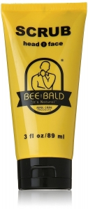 Bee Bald Scrub for Head & Face, 3 fl oz