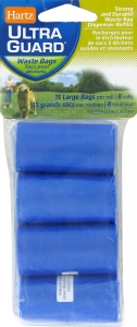 Hartz® Pick Up Bag Disposable Bag Refills- 120pk ** Extended Lead Time **