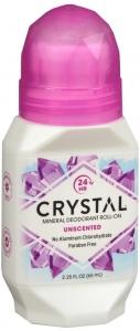 Crystal Body Deodorant Roll On 2.25 oz