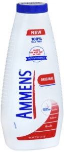 Ammens Medicated Talc-Free Powder, Original - 11oz