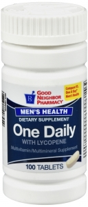 GNP Men's Health One Daily Multivitamin Tablets 100ct