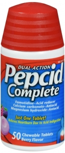 Pepcid Complete Berry Flavor - 50 Chewable Tablets
