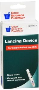 GNP Lancing Device
