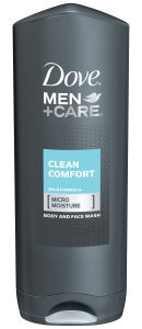 Dove Men+Care - Body and Face Wash Clean Comfort 13.50 oz