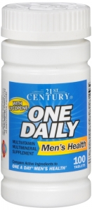 One Daily Men's Health Supplement - 100 Tablets