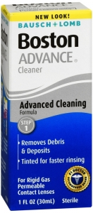 Bausch & Lomb Boston Advance Cleansing Contact Lens Solution - 1 oz.