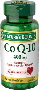 Nature's Bounty CoQ10 400 mg Softgels 39ct