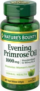 Nature's Bounty Evening Primrose Oil 1000mg 60ct
