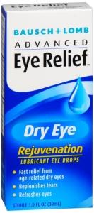 Bausch & Lomb Advanced Eye Relief Rejuvenation Eye Drops 1oz
