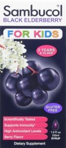 Sambucol Black Elderberry Immune System Support Liquid For Kids- 7.8oz