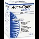 Accu-Chek Softclix Lancets 28 Gauge - 100 Lancets