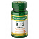 Natures Bounty Vitamin B12 500mcg Microlozenges 100ct