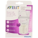 Philips AVENT 6-oz Breast Milk Storage Bags,  BPA-Free, 50 ct ** Extended Lead Time **