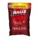 Halls Cherry Cough Drops - 80 Count