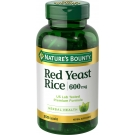 Nature's Bounty Red Yeast Rice 600mg Capsules- 250ct