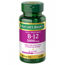 Nature's Bounty Dual Spectrum B-12 Dietary Supplement Bi-Layer Tablets, 5,000mcg, 30 count