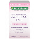 Nature's Bounty, Optimal Solutions Ageless Eye Skin Nourishment 120 Caplets