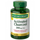 Nature's Bounty® Activated Charcoal 260 mg 100 Capsules