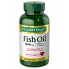 Nature's Bounty Odorless Fish Oil 1000mg Softgels 200ct