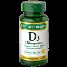 Nature's Bounty Vitamin D3 5000 IU Softgels 150ct