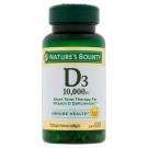 Nature's Bounty - Ultra Strength Vitamin D3 10000 IU 72 Softgels
