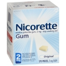 Nicorette Gum 2mg Regular - 170ct Box