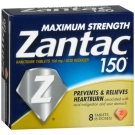 Zantac Maximum Strength Tablet 150mg - 8ct