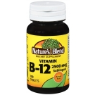 Nature's Blend Vitamin B-12 2,500 mcg Tablets 100 ct