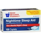 GNP Nighttime Sleep Aid 25 Mg - 100 Caplets