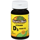 Nature's Blend Vitamin D3 5000IU Tablets, 100ct