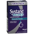 Systane Balance Lubricant Eye Drops Twin Pack 2-10 mL Bottles